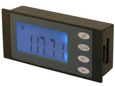 Panel Meter Lcd Snap-in Ac Volts 20amp 4.4kw 32407 Me