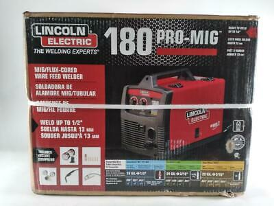 Lincoln Electric Pro-mig 180 Welder 230-volt Mig Feed Model K2481-1-preowned