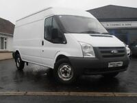 2010 Ford Transit 115 T350 LWB RWD Van in White