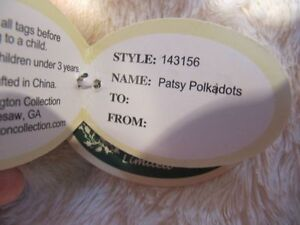 Bearington Bear Collection - Patsy Polkadots Strathcona County Edmonton Area image 3