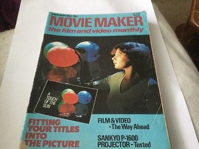 MOVIE MAKER MAGAZINE JANUARY 1982