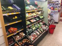 Fruit And Veg Display Unit. Chilled. Retail.