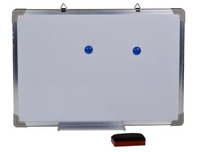 "24""x16"" Single Side Magnetic Writing Whiteboard Office Universal Dry Erase Board"