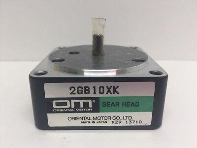 Oriental Motor 2gb10xk Gear Head