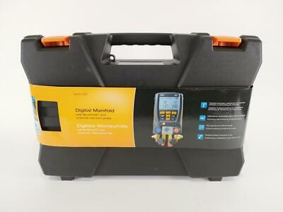Testo 0563 1557 557 4 Way Valve Digital Manifold Meter Kit Preowned