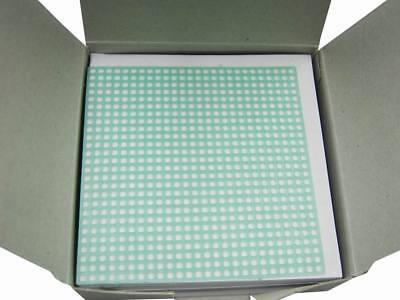1box Dental Lab Retention Mesh Medium Square Grid Partial Denture 0.60mm Vep