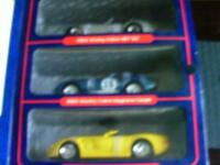 1/18 scale Shelby Collection set of 3 Die cast