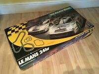Scalextric Le Mans 24hr Mercedes CLK GT1 with Electronic Lap Counter