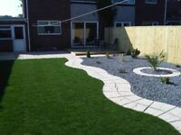🚜Landscapes garden services free quotation paving walls turfing fencings artificial grass decking