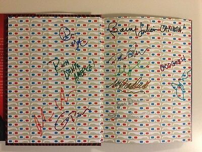 Signed  America Again  By Stephen Colbert Late Show Autographed By All Writers