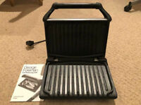 George Foreman 19920 Five Portion Family Grill - Silver