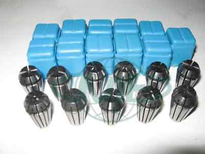 Er16 Collet Set--116 Up To 38 By 16th --11 Common Sizes Er16-set11--new