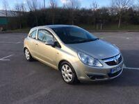 Vauxhall Corsa Club A/C 1.2 Petrol Gold 3 Door 12 Months Mot