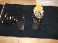 ION size 12 very stiff boots,