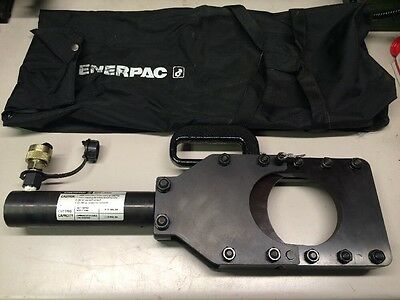 New Enerpac Whc-4000 4 Remote Hydraulic Cable Wire Cutter Head