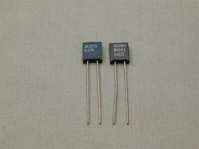 3 Vishay S102c2k2615t 2.2615k .6w .01 Bulk Metal Foil High Precision Resistors