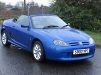 MG TF 1.6 115PS 2DR ROADSTER (blue) 2003