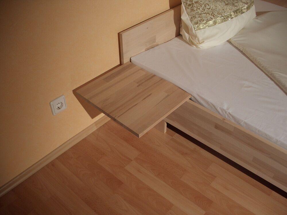 27mm massivholz futon bett massivholzbett 140x200 fu ii. Black Bedroom Furniture Sets. Home Design Ideas
