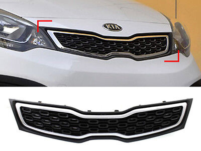 Front Hood Grill Tuning T Emblem T130 For 06 10 Kia Rio