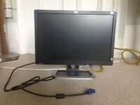 HP 19-inch LCD colour monitor