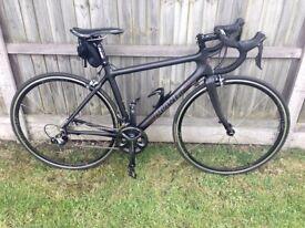 Planet X Pro Carbon Road Racing Bike (Ultegra) + Garmin Edge 200