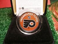 Colourized Philadelphia Flyers Coin