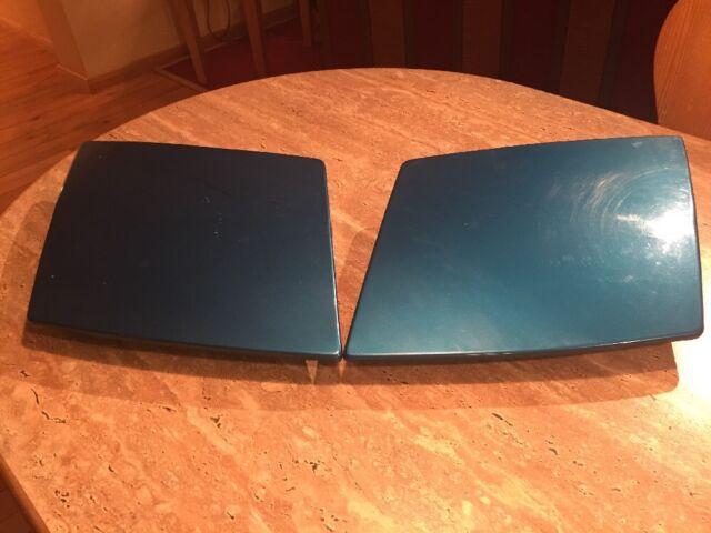 Originale Scheinwerfer-Abdeckungen links+rechts blau-metallic Ford Probe ECP