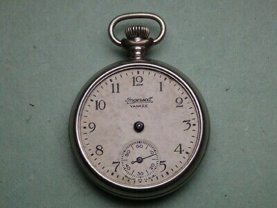 Early Ingersoll Yankee Pocket Watch - For Parts Or Repair