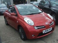 NISSAN MICRA SPORT CC 1.6 CONVERTIBLE (red) 2006
