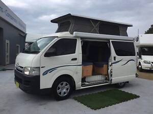 2007 Toyota Hiace Frontline Campervan, Automatic North Narrabeen Pittwater Area Preview