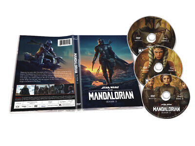 The Mandalorian2 DVD ,Complete Second Sea son 3-disc Set  English New Sealed