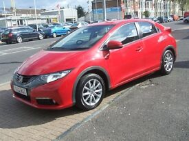 HONDA CIVIC I-VTEC ES (red) 2012