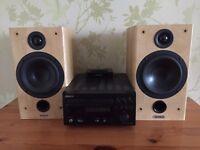 Tannoy F1 Custom Speakers Denon DAB radio and Denon iPod dock