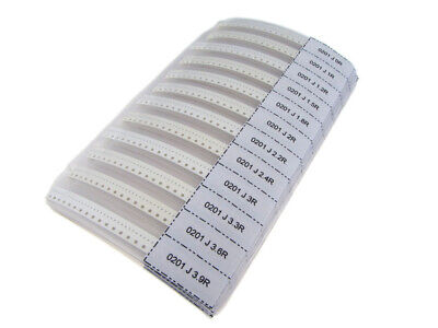 0201 Smd Resistor Kit 106 Value Total 5300 Pieces Surface Mount