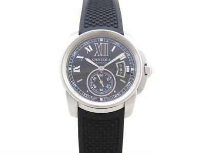 Neuf montre cartier calibre gm w7100014 automatique 42 mm  2 bracelets 7290€