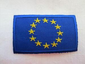 European Union Patches,  Pins, Stickers