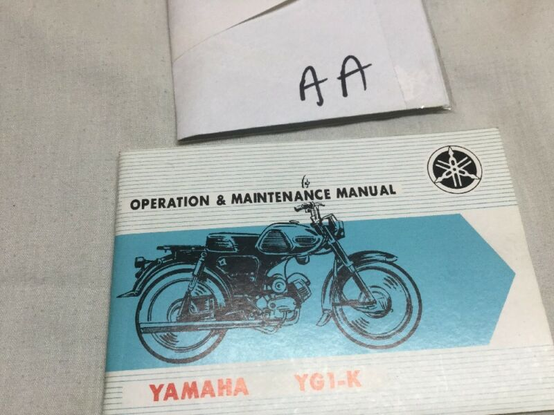 YAMAHA YG-K OPERATION & MAINTANCW MANUAL