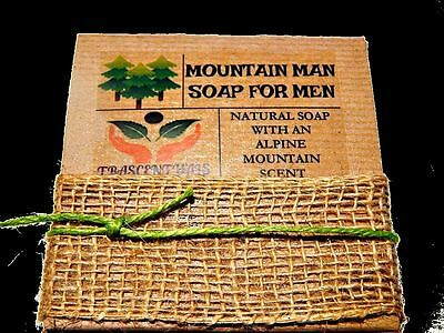 Gift Soap Mountain Man For Men Comes in Gift Box Unique Handmade