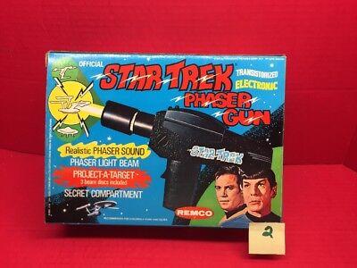 Official Star Trek Phaser Gun Electronic Remco 1975 - Phaser Gun