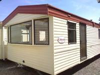 Static caravan 36 x 12 ft 3 bedrooms & electic heating - great price!