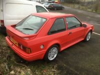 *** ford escort xr3i f reg swap px car van ***