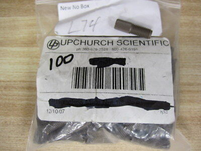 Upchurch Scientific P-287 Super Flangeless Male Nut P287 Pack Of 100