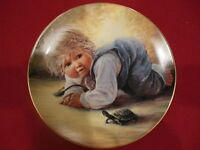 "Collector's Plate: Playful Memories ""Jeremy"" by Sue Etem"