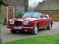 1987 Bentley Continental Convertible