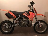 Ktm sx 65 2008 not 50 kx cr 85 sx65 sx50