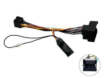 BMW 1 series E81 E82 Car Stereo Wiring ISO adaptor with Ignition generator