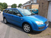 2006 FORD FOCUS 1.8 TDCI AQUARIUS BLUE BREAKING FOR SPARES PARTS KKDA