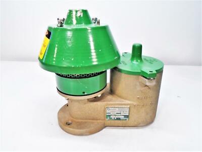 Enardo 3 Aluminum Pressure Vacuum Relief Vent Valve Model 950-3-1132