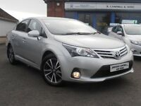 2015 Toyota Avensis Icon Business Edition 2.0 D-4D 4 Door Saloon In Silver