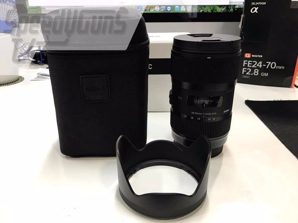 Nearly New Sigma AF 18-35mm F1.8 DC HSM Lens Art Series for Canon